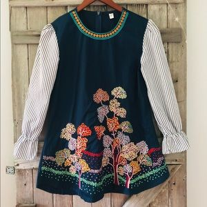 Gorgeous embroidered tunic!